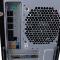 Das MSI Mainboard mit zehn USB-Ports.