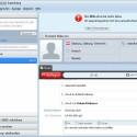 Während eines Telefonats kann man miteinander chatten. Skype warnt sogar vor schlechter Sprachqualität.