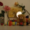 Zimmerbeleuchtung ein, Blitz aus: ISO 400, Blende 3.6, 1/90 Sekunde.