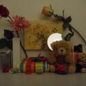 Zimmerbeleuchtung ein, Blitz aus: ISO 800, Blende 3.6, 1/180 Sekunde.