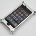 Auf die Rückseite sollte man das iPhone nur ohne festgeschraubte Linse legen.