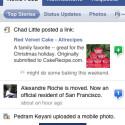 Das Facebook-Programm zeigt sich auf dem iPhone im Vergleich zu anderen Sozialen Netzwerken sehr umfangreich.