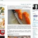 """Kochrezepte und Küchentipps in großformatigen Fotos und deutschen oder englischen Texten gibt es bei """"1x umrühren bitte"""""""