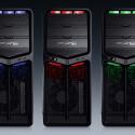 Der Rechner leuchtet in drei Farben.
