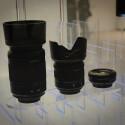 Auf der IFA präsentierte Samsung ein 18-55mm-Standard-Zoom, ein 50-200mm Telezoom und ein 30mm-Pancake für die NX-Kameras.