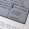 An eingen Stellen wurde die Menüführung falsch oder nicht in die deutsche Sprache übertragen.