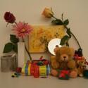 Zimmerbeleuchtung ein, Blitz aus: ISO 1600, Blende 8.0, 1/60 Sekunde.