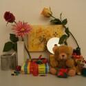 Zimmerbeleuchtung ein, Blitz aus: ISO 3200, Blende 11.0, 1/60 Sekunde.