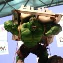 Auch Hulk war auf der DCMM zu Gast.