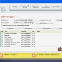 Das Rippen von Audio-CDs erfolgt sehr schnell in das MP3- oder WAV-Format.