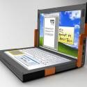 Der untere Touchscreen zeigt eine Tastatur zum Tippen an.