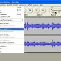 Projekte speichert Audacity im eigenen Format. Um WAV-, MP3- oder OGG-Dateien zu verwenden, muss der Anwender das Projekt exportieren.