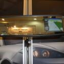 Vorerst noch ein Prototyp aber bald im Handel: Das Navi Vision von BI Automotive ist eine komplette Navigationslösung für den Rückspiegel.