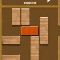 Das kostenlose Spiel bietet in 600 Levels Spielspaß in einem Labyrinth aus Holzblöcken.