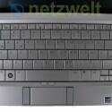 Die Tasten der Tastatur sind sehr groß. Viel Platz für das Touchpad bleibt da nicht.