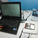 Auch einen GPS-Empfänger besitzt die ST 1000. Geoinformationen können per WLAN auf das Notebook übertragen werden.