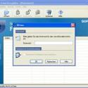 Um ein empfangenes verschlüsseltes Archiv zu öffnen, muss nach dem Doppelklick auf die Datei das richtige Passwort bekannt sein und in das Feld eingegeben werden. Der Inhalt des Archivs ist danach ersichtlich.