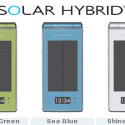Ein wasserfestes Solarhandy: Was in fünf Jahren vielleicht schon zum Alltag gehört, ist heutzutage noch eine Seltenheit. Der japanische Mobilfunkanbieter NTT Docomo hat mit dem SH-08A ein solches Handy im Programm. Zehn Minuten Sonnenlichteinstrahlung liefert Energie für eine Minute Telefonieren.
