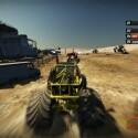 Unterwegs im Monster-Truck - ein Fahrer zeigt Profil