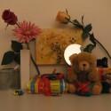 Zimmerbeleuchtung ein, Blitz aus: ISO 1600, Blende 5.0, 1/150 Sekunde.