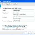 Name, Skype-Name und Kennwort müssen eingegeben werden, sowie die rechtlichen Bestimmungen durch das Setzen eines Hakens akzeptiert werden.