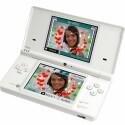 Fotobearbeitung mit der Handheld-Spielekonsole.