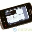 Dass der Storm kein reines Business-Handy ist, beweisen seine zahlreich vorhandenen Multimedia-Funktionen.