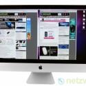 Pure Größe und tolles Design: Die 27 Zoll große Bildschirmdiagonale macht in Kombination mit dem perfekt verarbeiteten Gehäuse auf dem Schreibtisch ordentlich was her.
