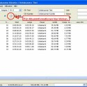 Nachdem eine CD im Laufwerk ist, zeigt EAC die Songs noch unbenannt an. Ein Klick auf das CD-Symbol fügt Informationen hinzu.