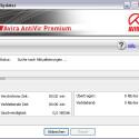 Suche nach Programm-Updates und neuen Viren-Definitionen.
