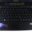 Die Tastatur zählt zu den besten am Netbookmarkt.