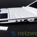 Auch dieses Netbook bietet drei USB-Ports.
