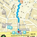 Auch eine Fußgängernavigation beherrscht Ovi Maps sicher.