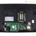 Arbeitsspeicher, Festplatte und WLAN-Modul