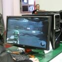Gaming-Monitor mit 3D-Anzeige - Shutterbrille nötig.