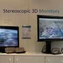 Stereoskopische 3D-Bildschirme - Polarisationsbrille nötig.