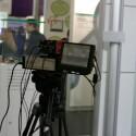 Das Produktionssystem STAN ist neben den Kameras befestigt.