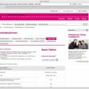 Auslandsoptionen für Asien bei T-Mobile