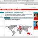 Tarifzonen von Vodafone im Überblick