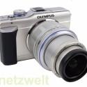 Systemkamera mit Live-MOS-Sensor.