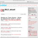 Auch der Axel Springer Verlag pflegt mehrere Konten für die Bild-Zeitung.