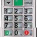 Besonders groß geraten ist Katharina, ein Handy des deutschen Herstellers Fitage.