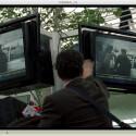 Der Fernsehsender Bloomberg blendet für Beiträge die Börsenkurse niemals aus.