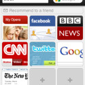 Der alternative Browser Opera Mini verwendet im Hintergrund viele Safari-Funktionen.