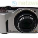 Kompaktkamera nimmt Hochgeschwindigkeits-Serienbilder und Zeitlupenvideos auf.