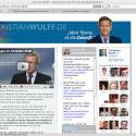 Christian Wulff, Kandidat von Union und FDP, zeigt sich online sehr zurückhaltend.
