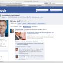 Ähnlich sieht es bei Facebook für Wulff aus - auch wenn er dort mehr Freunde hat.
