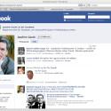 Bei Facebook liegt sein Profil mit Wulff gleichauf, aber die Gauck-Gruppe ist riesig.