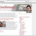 Die dritte Kandidatin Lukrezia Jochimsen zeigt viele Informationen, ist aber ohne Chance.