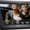 Der integrierte Standfuß sorgt für sicheren Halt des Home Tablet 7. (Quelle: Archos)